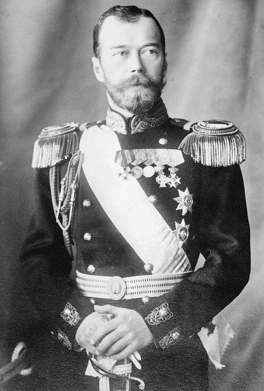 tsar nicholas ii of russia abdicates royal irish virtual
