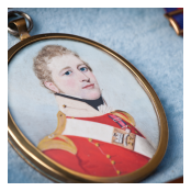 Miniature portrait of Captain John Millar