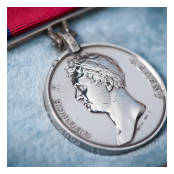 Waterloo medal of Captain John Millar