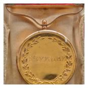 Army Gold Medal Desbarres Nivelle