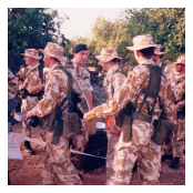 Colonel-in-Chief visits A (Militia) Company 4/5 RANGERS in Cyprus.