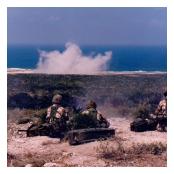 Machine Gun Platoon 4/5 RANGERS and mortar fire effect on target.