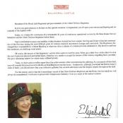 The Queen's address to Royal Irish Regiment
