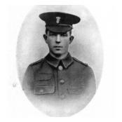Private Robert Morrow VC, Royal Irish Fusiliers.