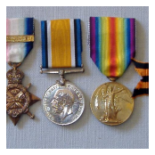 Private Robert Morrow VC's medals.