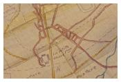 map 'La Petite Douve' farm Messines.