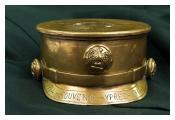First World War engraved shell case