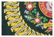 NIAGARA Regimental Colour Battle Honour