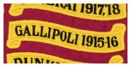Battle Honour GALLIPOLI 1915-16