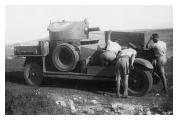 Armoured Car Palestine Royal Irish Fusiliers