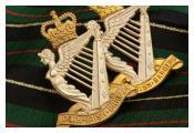 North Irish Brigade Cap Badge