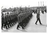 1 R IRISH Troop Colour Battlesbury Barracks Warminster