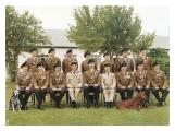 5 R IRISH officers at camp in 1975