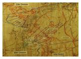 Map Somme 1 July 1916 Albert 36th (Ulster) Division Objectives.