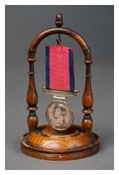 Waterloo Medal awarded to Ensign John Ditmas