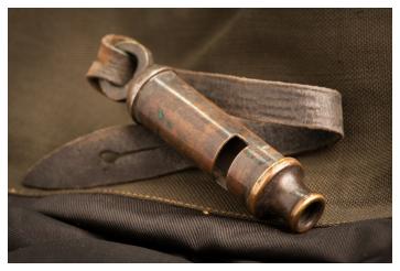 First World War whistle