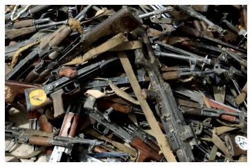 Iraqi weapons.