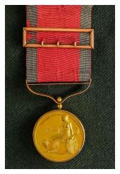 Army Gold Medal Talavera gordon