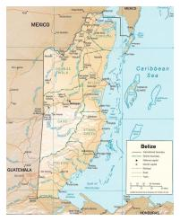 Belize, 1 R IRISH 1982