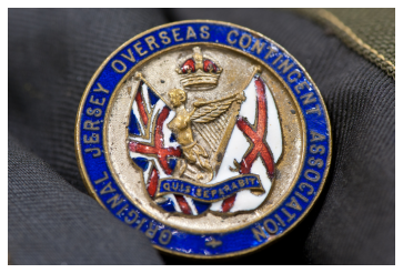 Jersey Militia badge