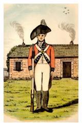 Uniform 89th Regiment Foot 1794