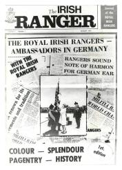 The front cover of the first edition of Irish Ranger