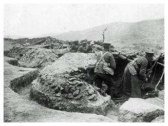 10th (Irish) Division on Kosturino Ridge
