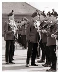 4/5 RANGERS Review Parade inspecting officer, GOC Northern Ireland