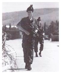 4/5 RANGERS patrol Sarajevo. Op RESOLUTE