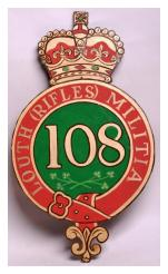 Louth Rifles Irish Militia 108th Regiment