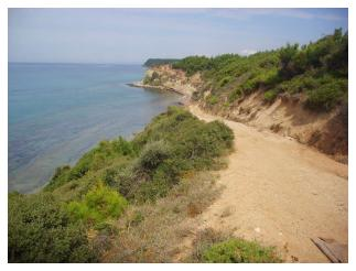 X Beach today Gallipoli