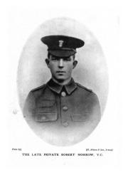 Private Robert Morrow VC, Royal Irish Fusiliers.