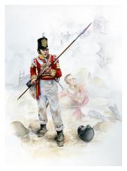 Grenadier Company Sergeant, 2nd/83rd, Spain 25 March 1812