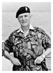 Major John Potter MBE