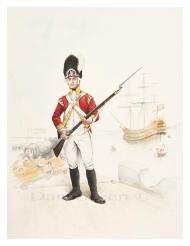 A marine of the 86th Regiment of Foot