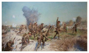 Beadle Attack Ulster Division 1st July 1916