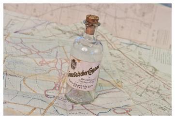 Cognac bottle battlefield map