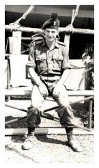 Wheeler 5 Platoon B Company 1 RUR Sarawak Borneo