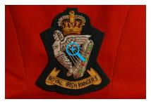 Blazer Badge - Royal Irish Rangers