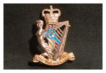 Cap Badge - Royal Irish Rangers