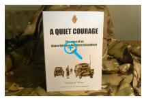Book - A Quiet Courage - The Story of an Ulster Defence Regiment Greenfinch