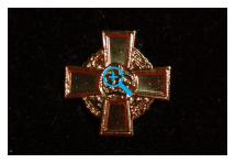 Lapel Badge - Conspicuous Gallantry Cross