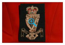 Blazer Badge - Royal Ulster Rifles