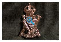 Cap Badge - Royal Ulster Rifles
