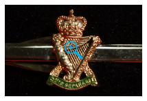Tie Clip - Royal Ulster Rifles