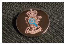 Uniform Cuff Button - Royal Ulster Rifles
