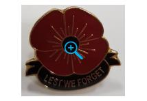 Lapel Badge - Lest we forget