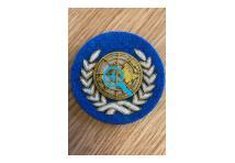 UN Officer Beret Badge