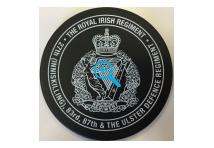 Coaster - Royal Irish Regiment - 27th (Inniskilling), 83rd, 87th & The Ulster De