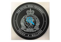 Coaster - Royal Irish Regiment - Faugh a Ballagh - Slate
